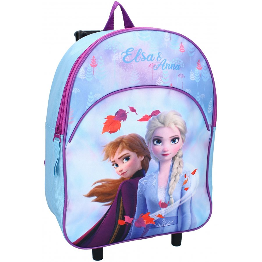 Vadobag · Dětský / dívčí cestovní kufr na kolečkách - trolley - Ledové království - Frozen - 8L