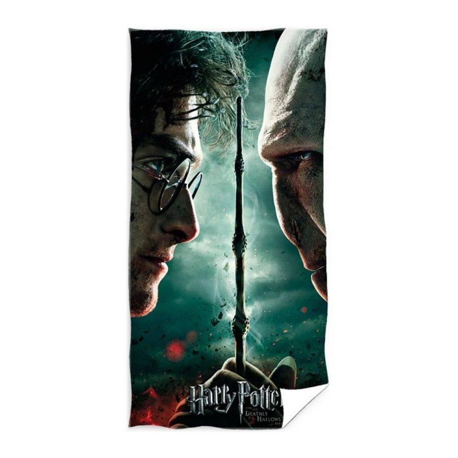 Plážová osuška Harry Potter vs. Lord Voldemort