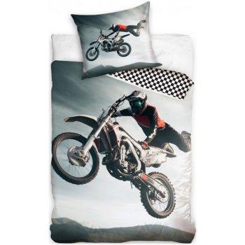 Bavlněné ložní povlečení Freestyle Motocross