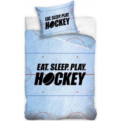 Bavlněné ložní povlečení Eat. Sleep. Play Hockey