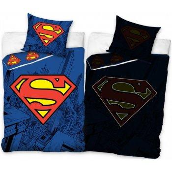 Bavlněné ložní povlečení Superman - se svítícím efektem
