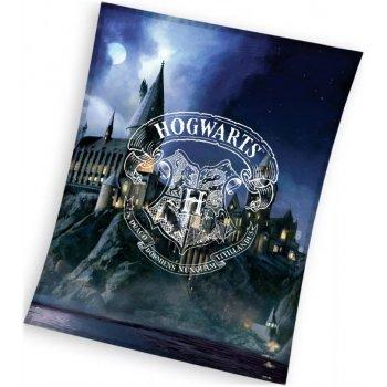 Velká fleecová deka Harry Potter - Škola čar a kouzel v Bradavicích