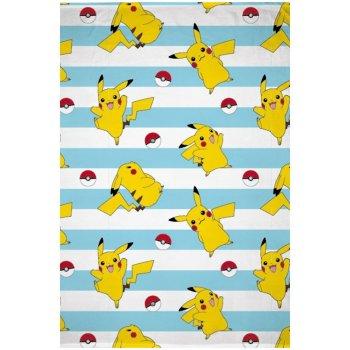 Fleecová deka Pokémon Pikachu