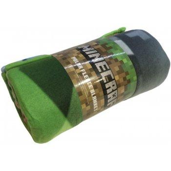 Fleecová deka Minecraft - Farma