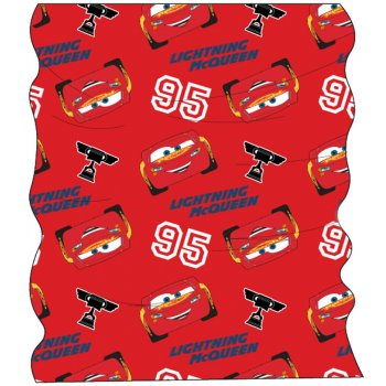 Multifunkční šátek Auta - Blesk McQueen