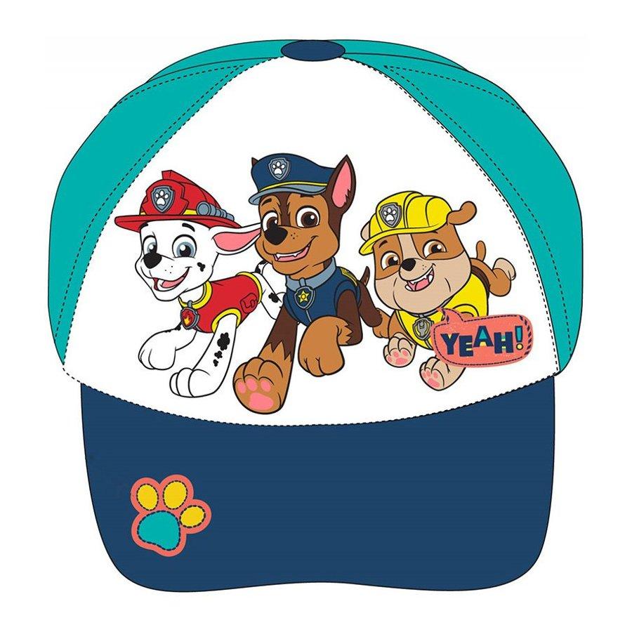 E plus M · Dětská kšiltovka Tlapková patrola - Paw Patrol - s výšivkou psí tlapky 52