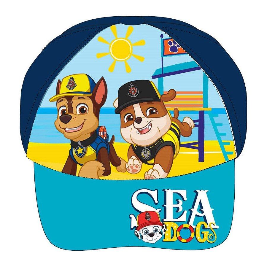 E plus M · Dětská kšiltovka Tlapková patrola - Paw Patrol - motiv Sea Dogs 52 Modrá