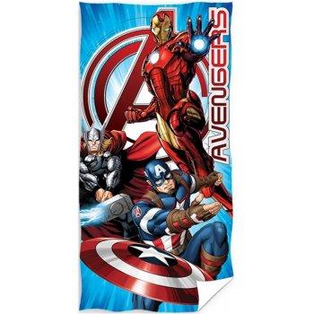 Bavlněná plážová osuška Avengers - MARVEL