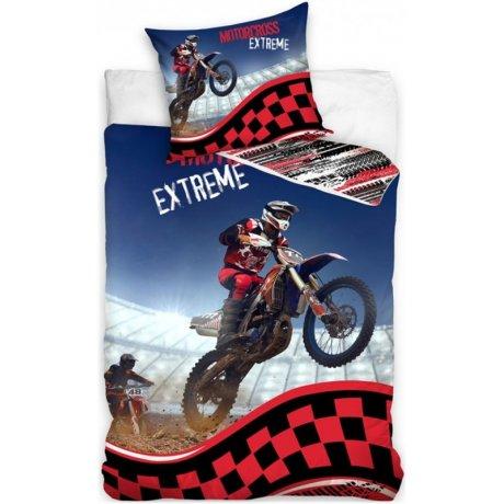 Bavlněné ložní povlečení Motocross Extreme