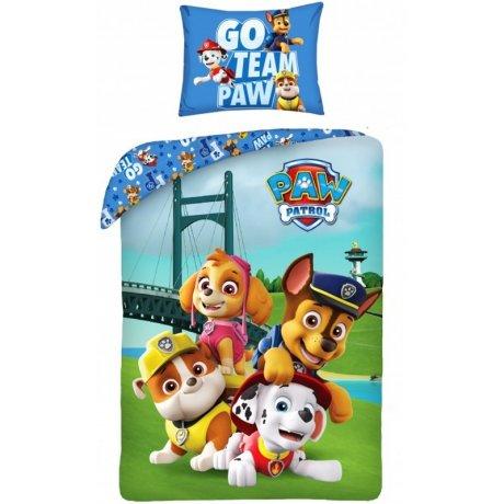 Bavlněné ložní povlečení Tlapková patrola - Go Team Paw
