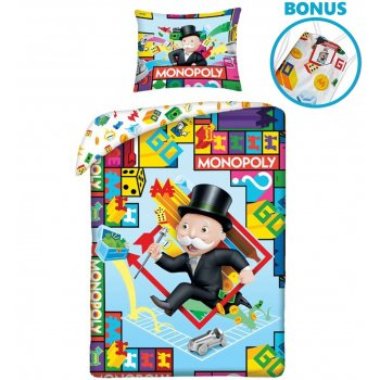 Bavlněné ložní povlečení Monopoly