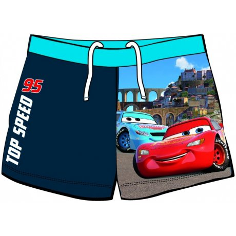 Chlapecké plavky boxerky Auta - Top speed