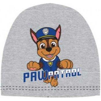Chlapecká jarní / podzimní čepice Tlapková patrola - Paw Patrol