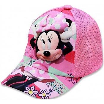Dívčí kšiltovka Minnie Mouse s mašlí - Disney