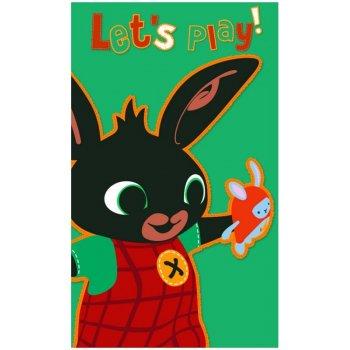 Dětský ručník Zajíček Bing - Let's Play!