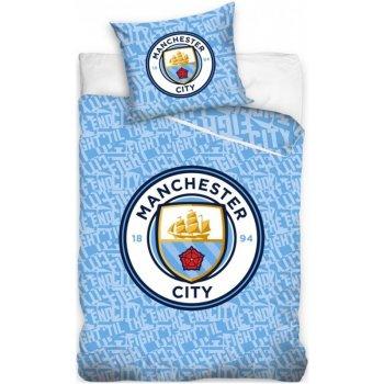 Bavlněné ložní povlečení Manchester City - ve dne