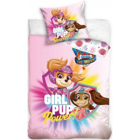 Bavlněné ložní povlečení Tlapková patrola ve filmu - Girl Pup Power
