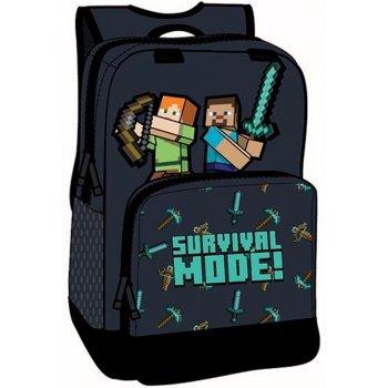 Batoh s přední kapsou Minecraft - Survival mode
