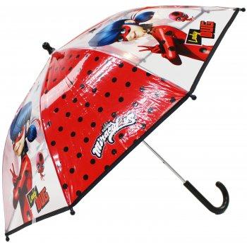 Dívčí transparentní deštník Kouzelná beruška - Ladybug