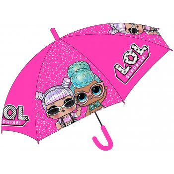 Dívčí vystřelovací deštník L.O.L. Surprise - růžový