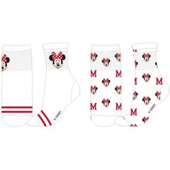 Dívčí sportovní ponožky Minnie Mouse (2 páry)