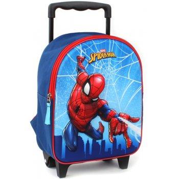 Dětský cestovní 3D batoh na kolečkách Spiderman