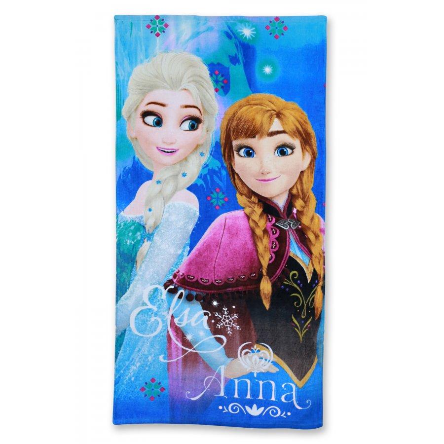 Setino · Plážová osuška Ledové království - Frozen - Anna a Elsa - 70 x 140 cm
