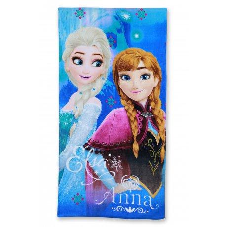 Plážová osuška Ledové království - Anna a Elsa