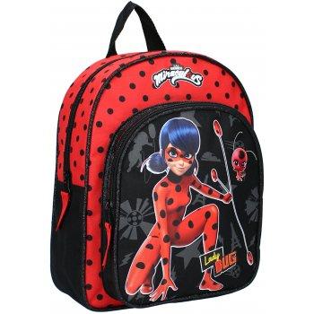 Dětský batoh s přední kapsou Kouzelná beruška - Ladybug