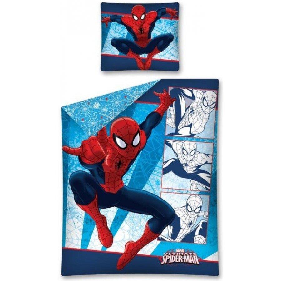 Detexpol · Bavlněné ložní povlečení Spiderman Ultimate - MARVEL - 140 x 200 + 70 x 90 cm