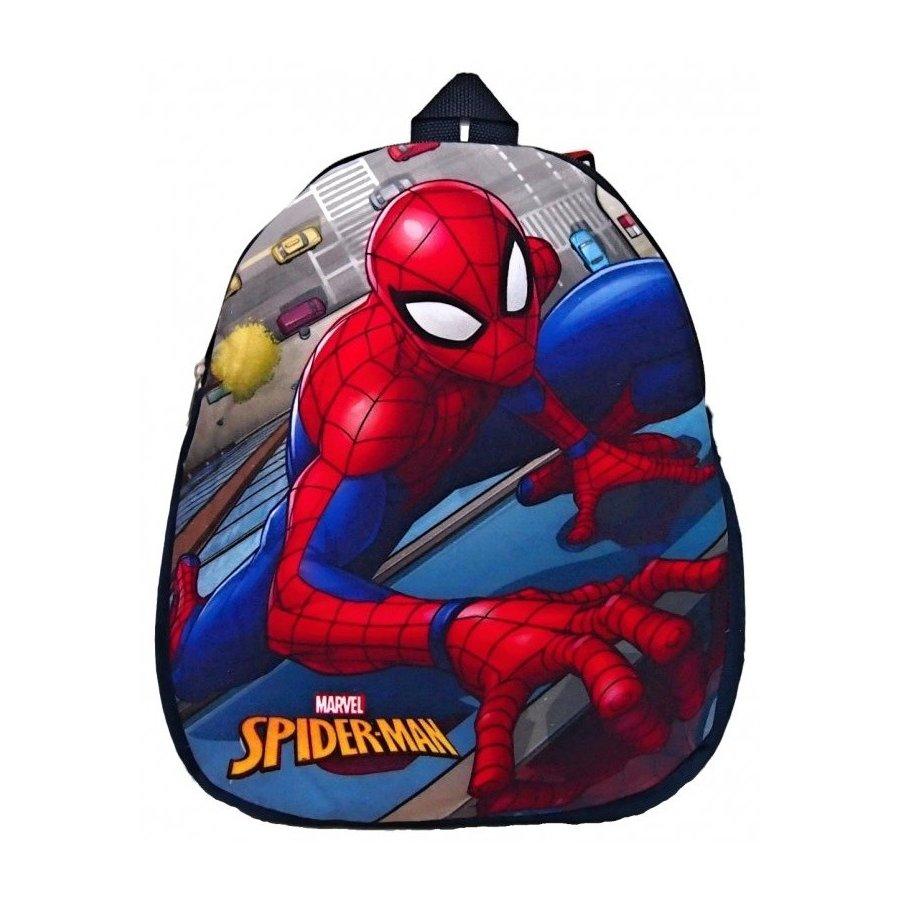 Fotografie Cottonland KFT · Dětský předškolní plyšový batoh Spiderman - 26 x 33 cm