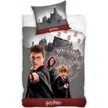 Bavlněné ložní povlečení Harry Potter s přáteli