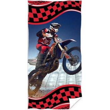 Plážová osuška Motocross