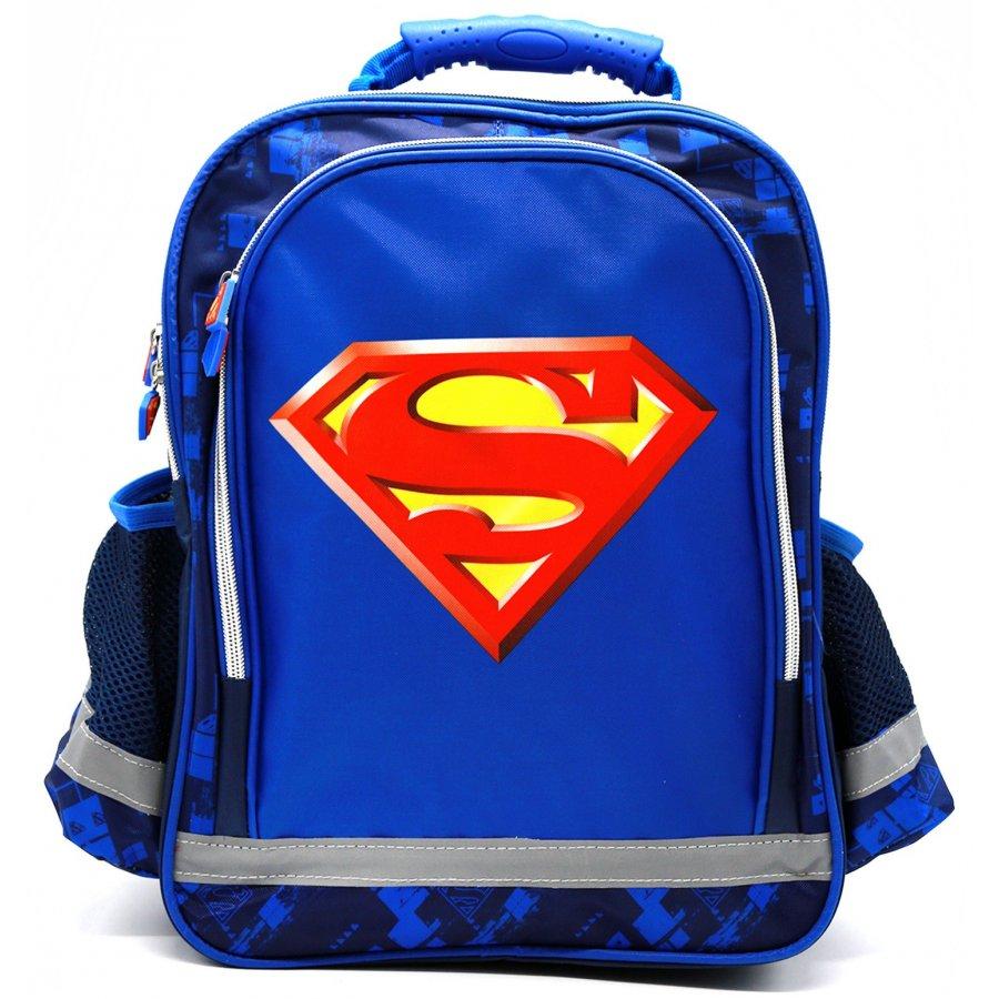 Setino · Školní anatomický batoh Superman - 37 x 29 x 13 cm